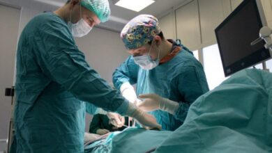 Photo of Грыжу размером с мяч удалили пациентке подмосковные врачи